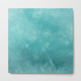 Modern teal shades Metal Print