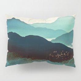 Indigo Mountains Kissenbezug