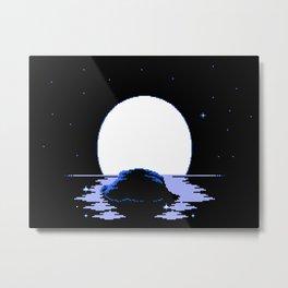 The Whispering Moon Metal Print