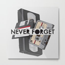 Never Forget - 1 Metal Print