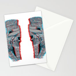 Lamassu - mesopotamian heritage Stationery Cards