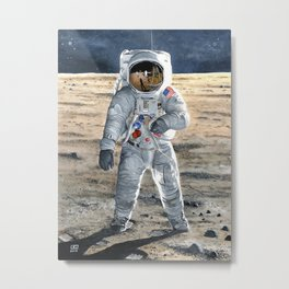 For All Mankind Metal Print