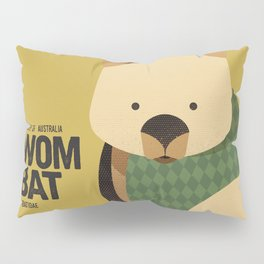 Hello Wombat Pillow Sham