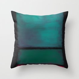 Rothko Inspired #8 Throw Pillow