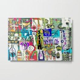 MAISHA KIJIJINI (LIFE IN THE VILLAGE) Metal Print