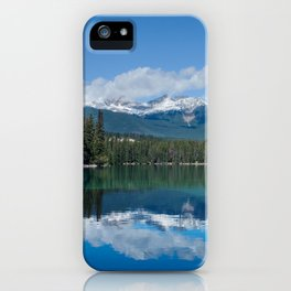 Pyramid Lake Reflections Photography Print iPhone Case