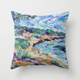 Chapel at St Croix Throw Pillow