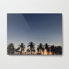 sunset blues Metal Print