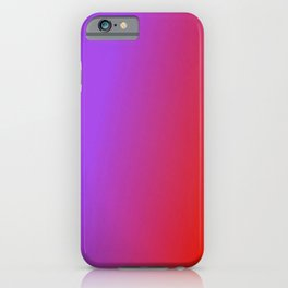 Ombre in Purple Red iPhone Case