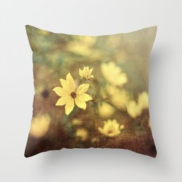 Fairy Tale Meadow Throw Pillow