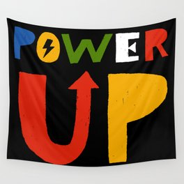 Power Up Wall Tapestry