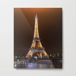 Eiffel Tower, France Metal Print