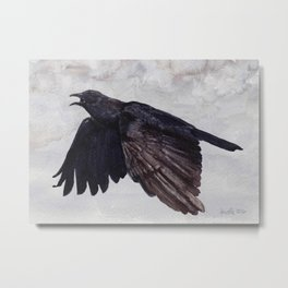 As the Crow Flies Metal Print