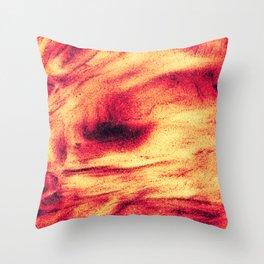 Fire Explosion Throw Pillow