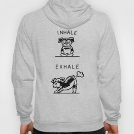 Inhale Exhale Schnauzer Hoody
