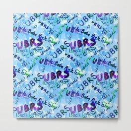 UBRS Baby Blue Metal Print