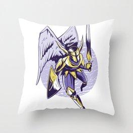 Engel Ritter Throw Pillow