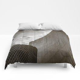 Texturized Brutalism Comforters