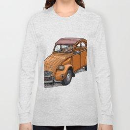 Orange 2CV Long Sleeve T-shirt