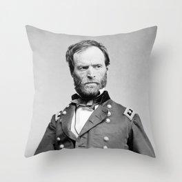 General Sherman - Hand In Coat Portrait Throw Pillow