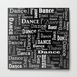 Just Dance! Metal Print