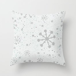 Snow Throw Pillow