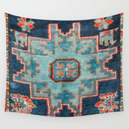 Karabakh  Antique South Caucasus Azerbaijan Rug Print Wall Tapestry