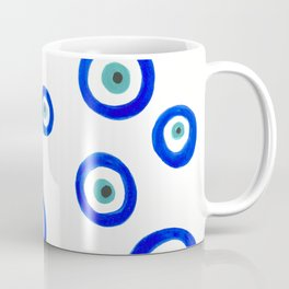 Evil Eyes Watercolor Coffee Mug