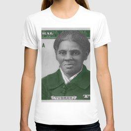 Proposed African American Icon Harriet Tubman Single U.S. Mint 20 Dollar bill T-shirt
