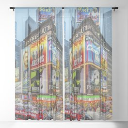Times Square III Special Edition I Sheer Curtain