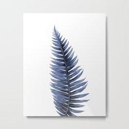 Blue plant Metal Print