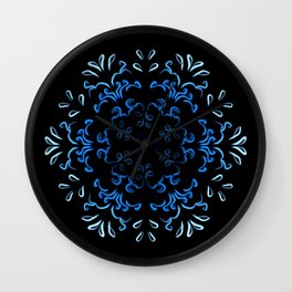 """""""Hakakā a hohonu"""" (lucha profunda en invierno) Wall Clock"""