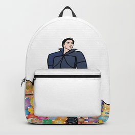 Sir Flower the Golden Knight Backpack