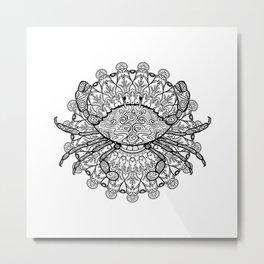 Cancer Mantra Metal Print