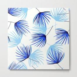Monotone on blue shade Metal Print