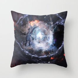Lets be One together Throw Pillow