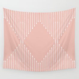 Geo / Blush Wall Tapestry