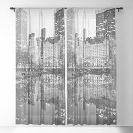 Meet you at the Oak Room - N.Y.C. Sheer Curtain