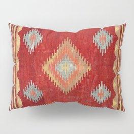 Çal  Antique Turkish Kilim Print Pillow Sham