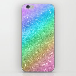 Rainbow Princess Glitter #1 (Photography) #shiny #decor #art #society6 iPhone Skin