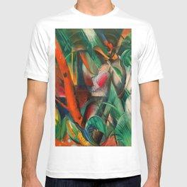 "Franz Marc ""In the Rain (Im Regen)"" T-shirt"