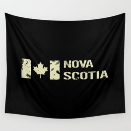 Canadian Flag: Nova Scotia Wall Tapestry