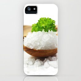 Flavor Salt for your kitchen iPhone Case