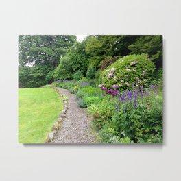 Wordsworth Gardens Metal Print