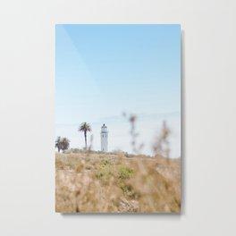 Travel photography Palos Verdes VI Lighthouse Metal Print