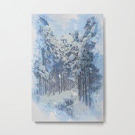 If Winter comes Metal Print