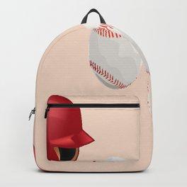 Baseball helmet and balls Backpack