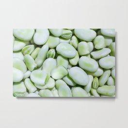 Fava beans Metal Print
