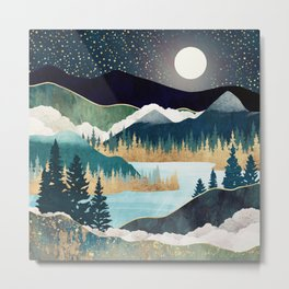 Star Lake Metal Print