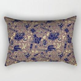 Tattoo Pattern Vintage Rectangular Pillow